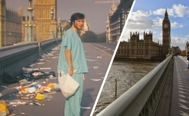 29 Days Later filming location: Westminster Bridge and Big Ben