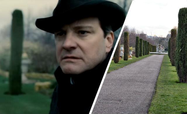 King's Speech filming location: Avenue Gardens, Regent's Park, London