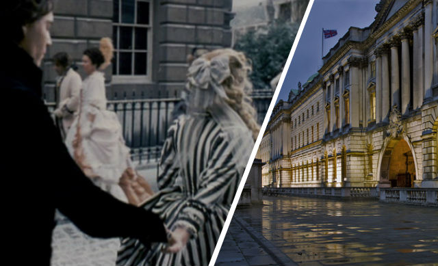 Somerset House, film location for Sleepy Hollow