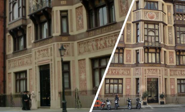 Mr Selfridge filming location: Royal College of Organists, 26 Kensington Gore, London