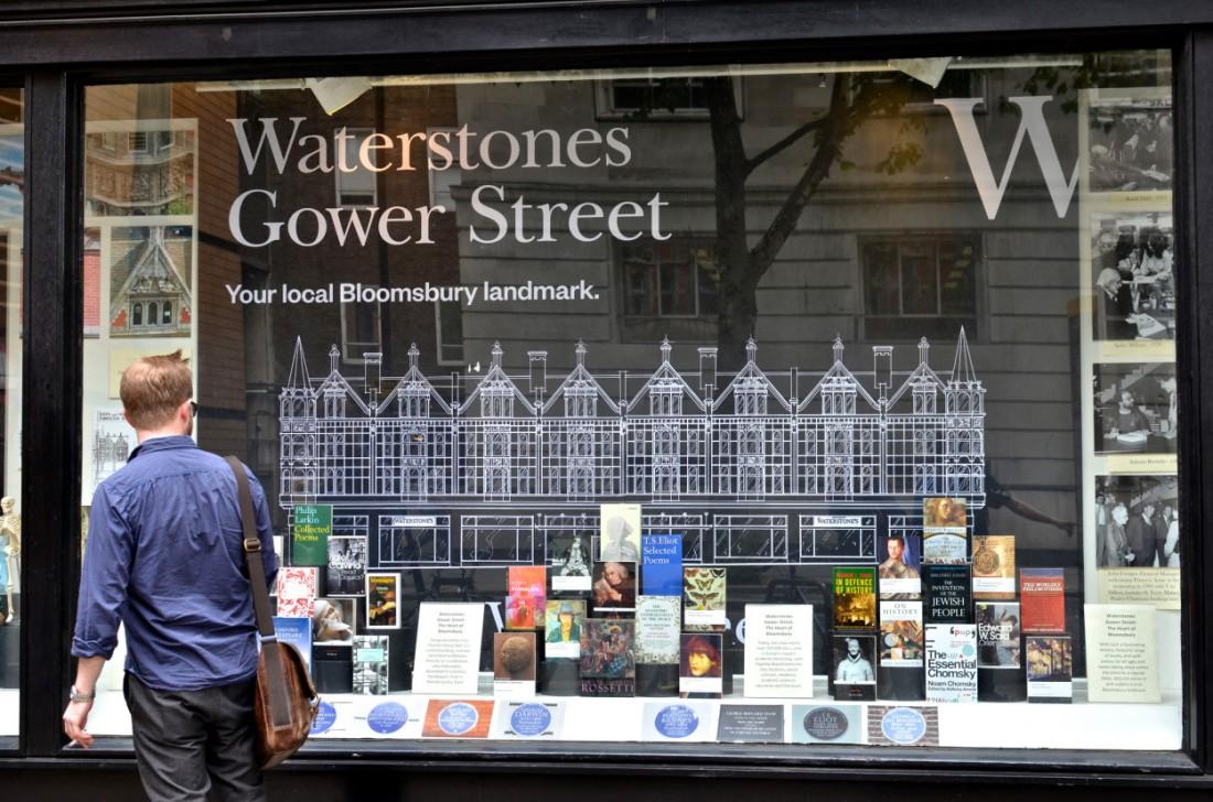 Waterstones in Gower Street, London