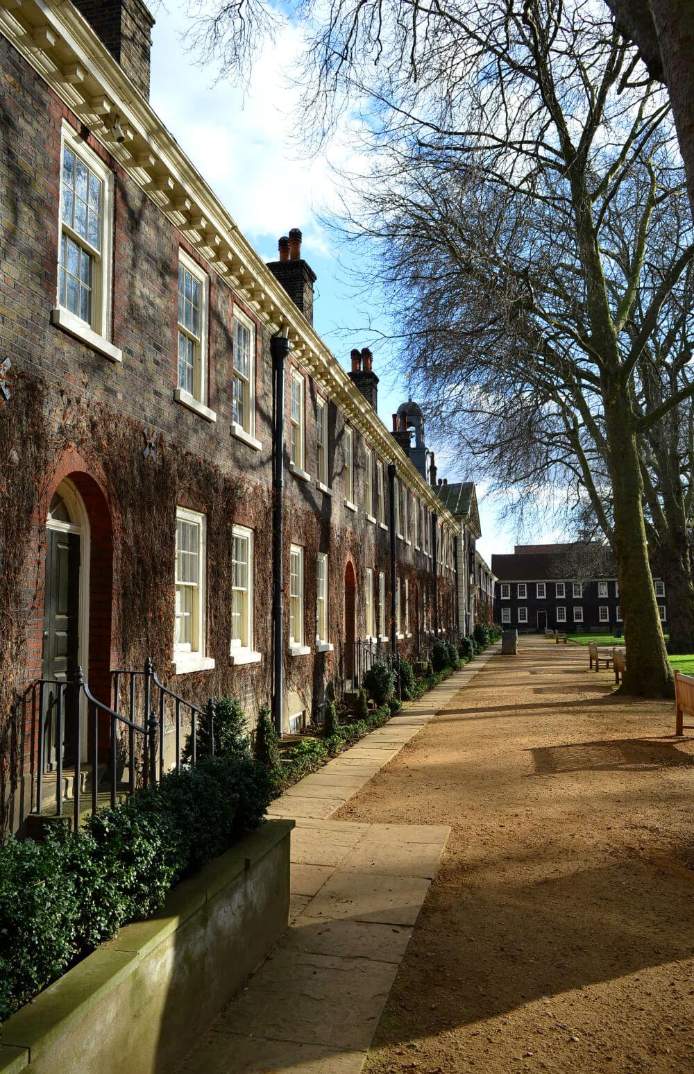 Geffrye Museum exterior, east London