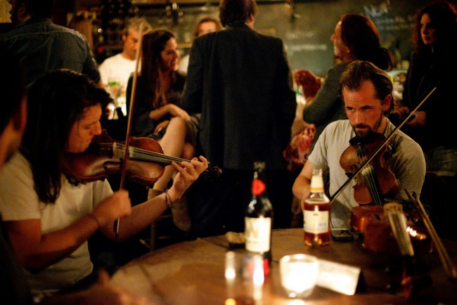 Celtic session at Jamboree in Limehouse, East London