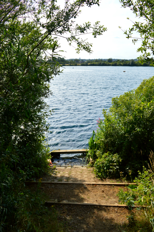 Fairlop Waters lake, London