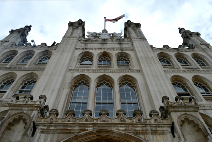 Guildhall exterior, City of London