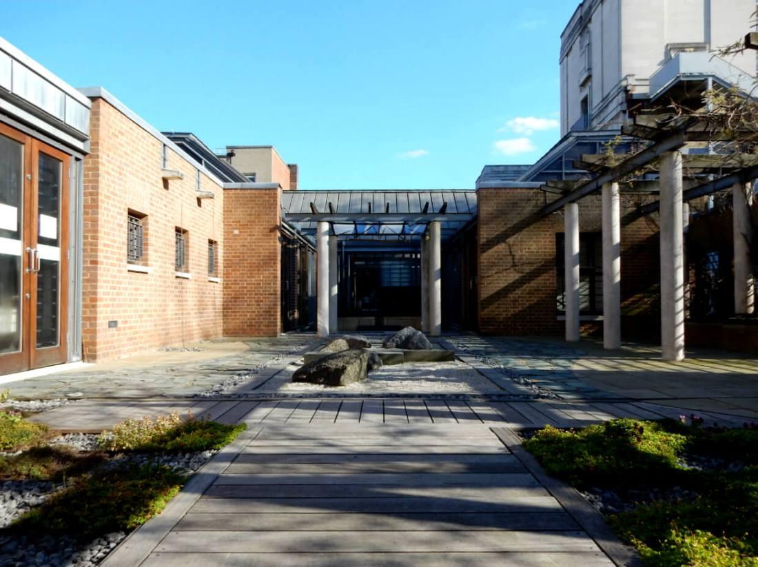 Japanese Roof Garden at SOAS Brunei Gallery, London