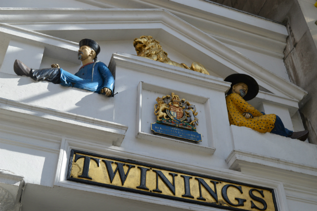 Twinings Tea Museum, 216 Strand, London