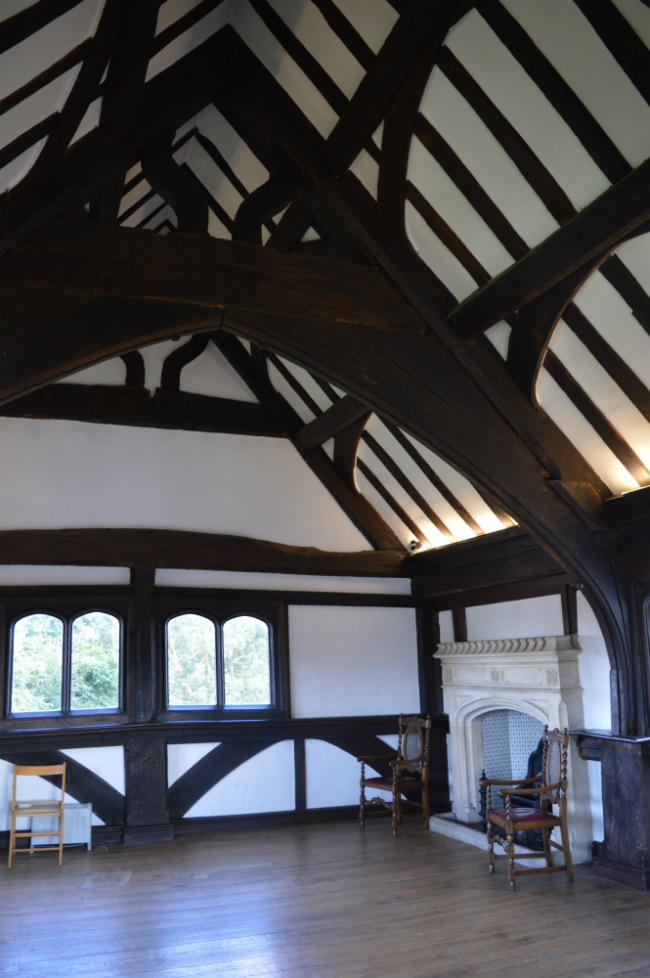 Quiet places in London to explore: Queen Elizabeth's Hunting Lodge in Epping Forest