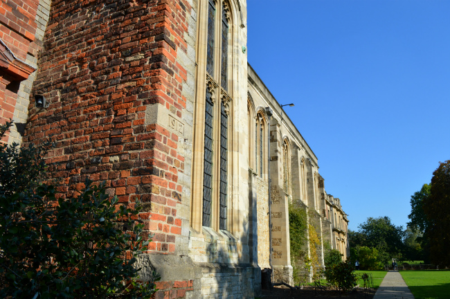 Exterior of eltham palace great hall