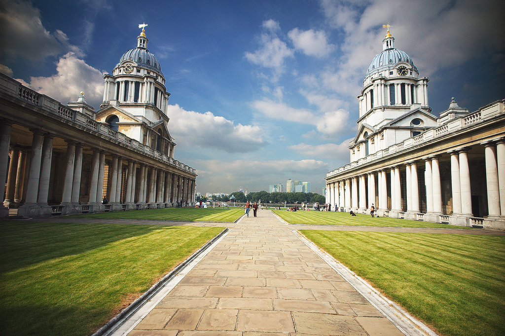 Old Royal Naval College Greenwich, london