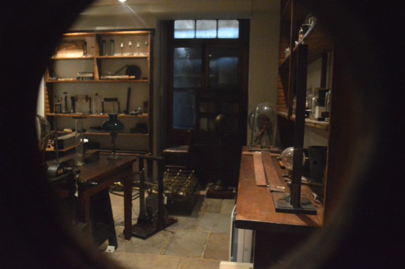 Faraday's lab at the royal institution, faraday museum, London