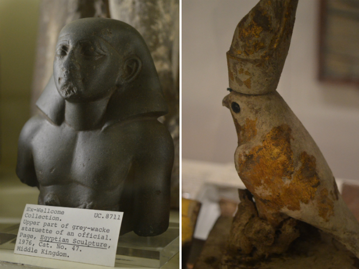 Figures at the Petrie Museum of Egyptian Archaeology, London