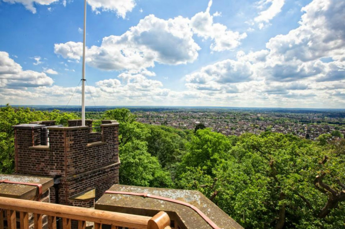 View from Severndroog Castle, London