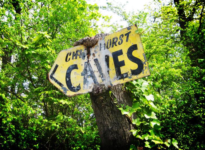 Chislehurst Caves., south east London