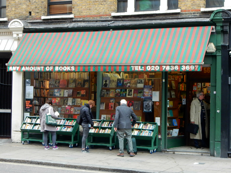 Any Amount of Books, Charing Cross Road, London