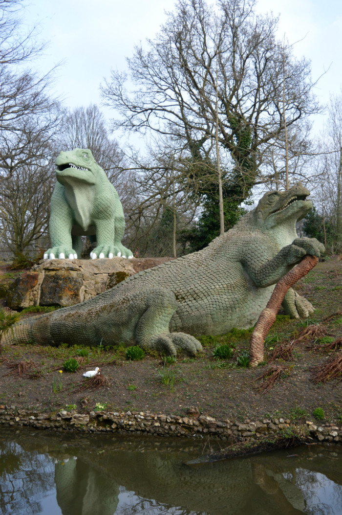 Crystal Palace Park dinosaurs, south east London