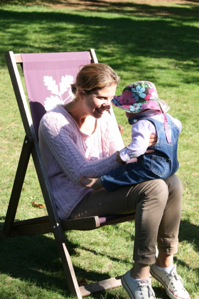 Family time at Osterley Park, London