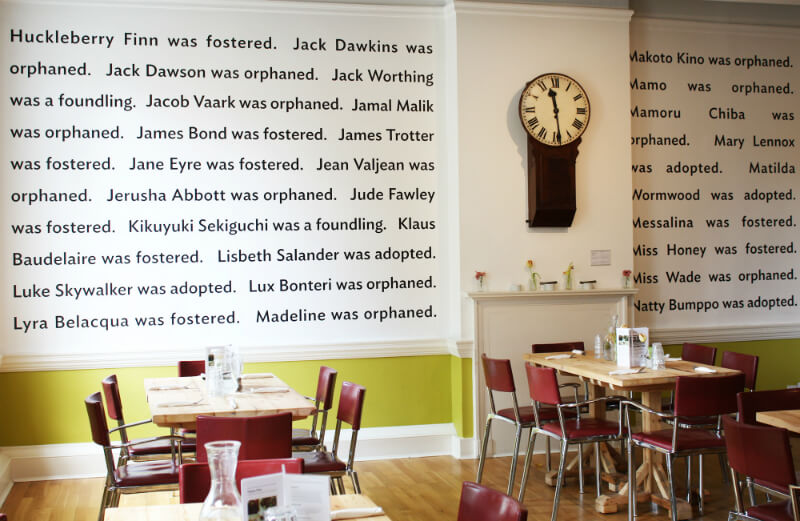 The Foundling Museum Cafe © The Foundling Museum