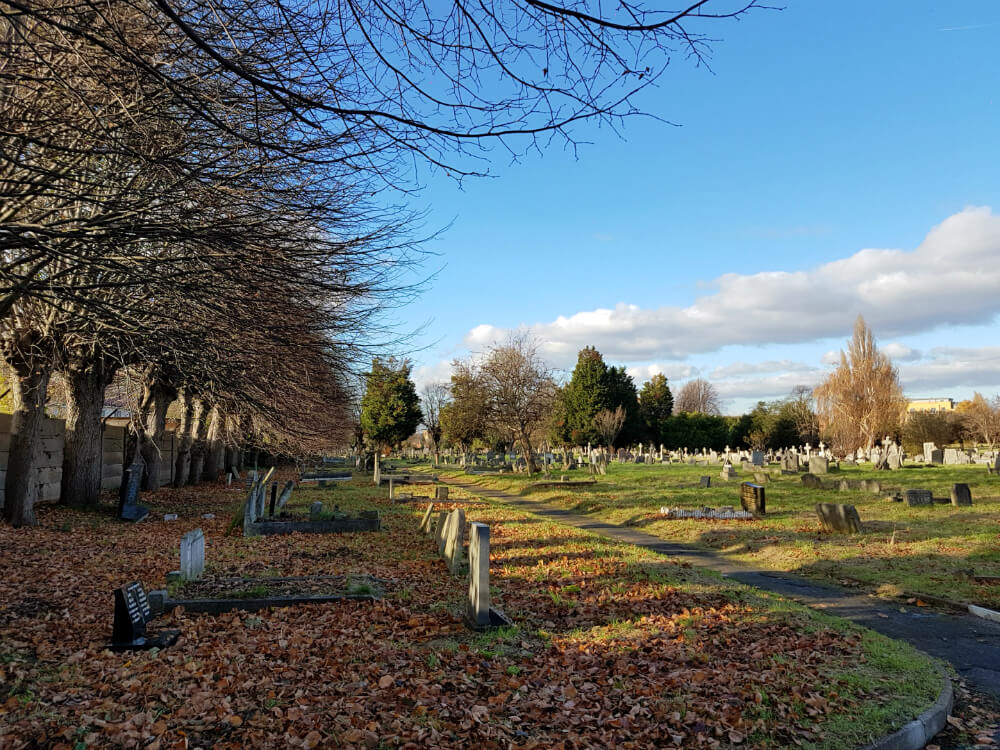 Streatham Cemetery, Tooting, south London