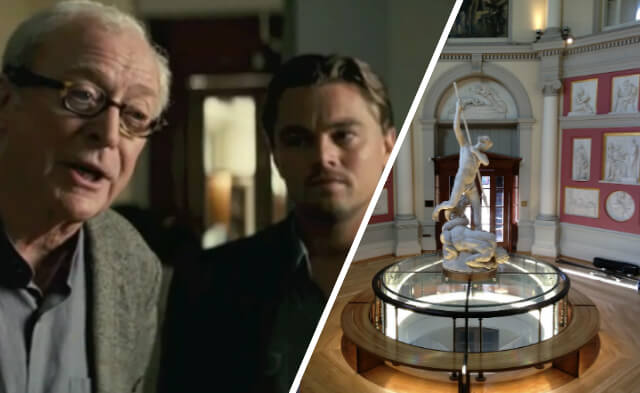 Inception filming location: Flaxman Gallery at the Art Museum, UCL, Bloomsbury
