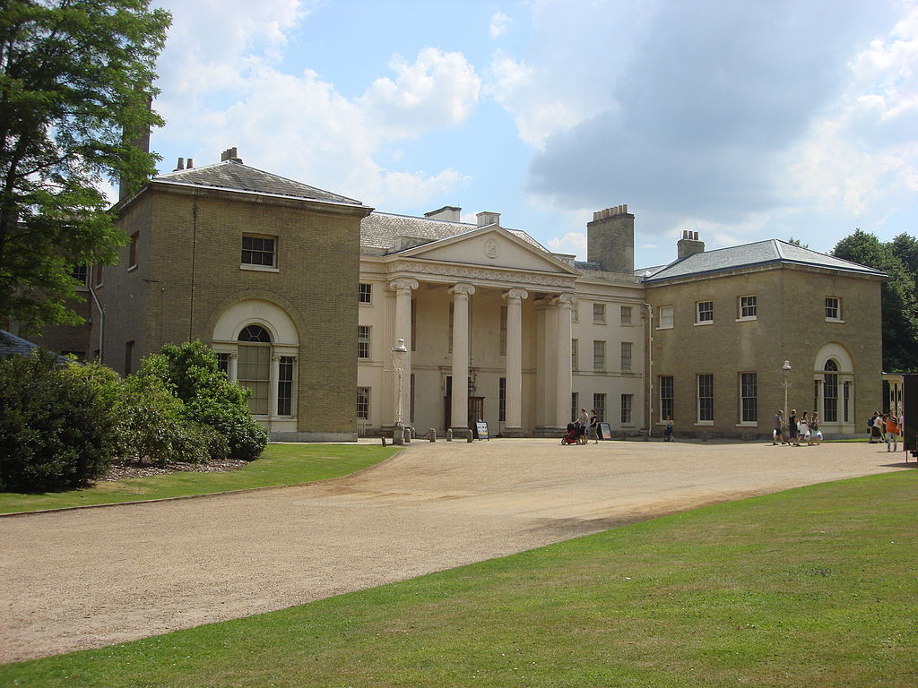 Exterior of Kenwood House, Hampstead, London