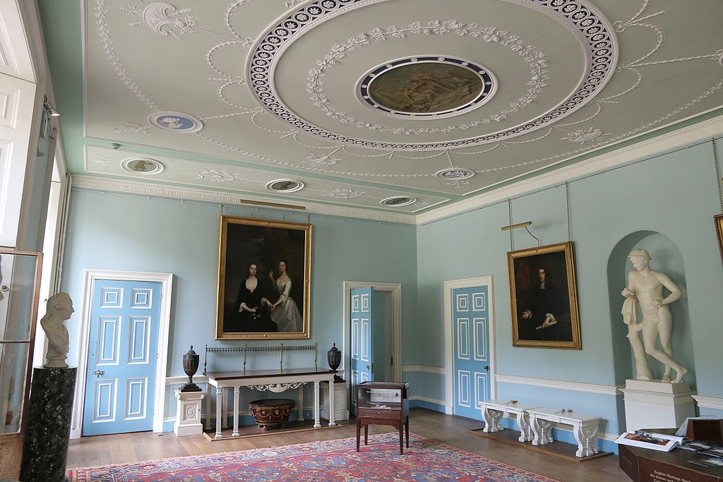 Entrance hall of Kenwood House, Hampstead, London