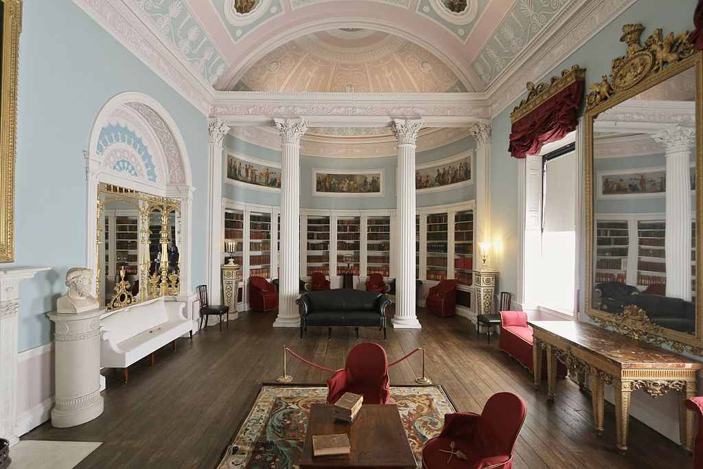 Library of Kenwood House, Hampstead, London