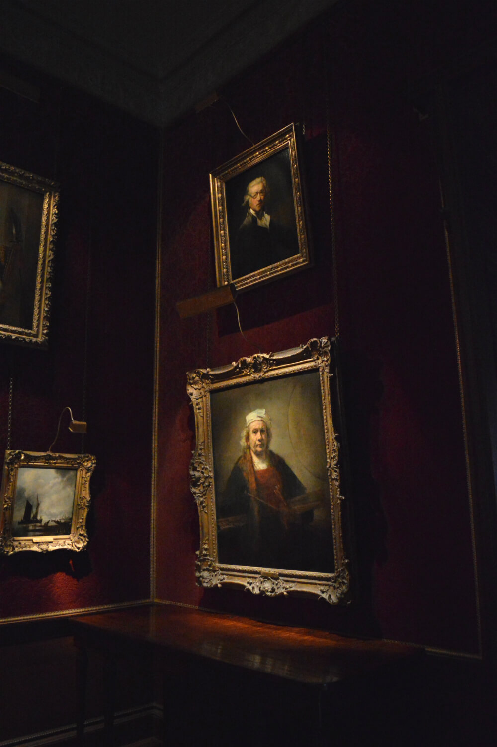Rembrandt and Reynolds self-portraits at Kenwood House, Hampstead, London