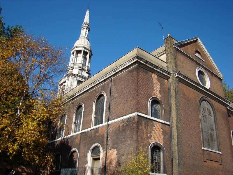 Shoreditch Church - St Leonard's - London