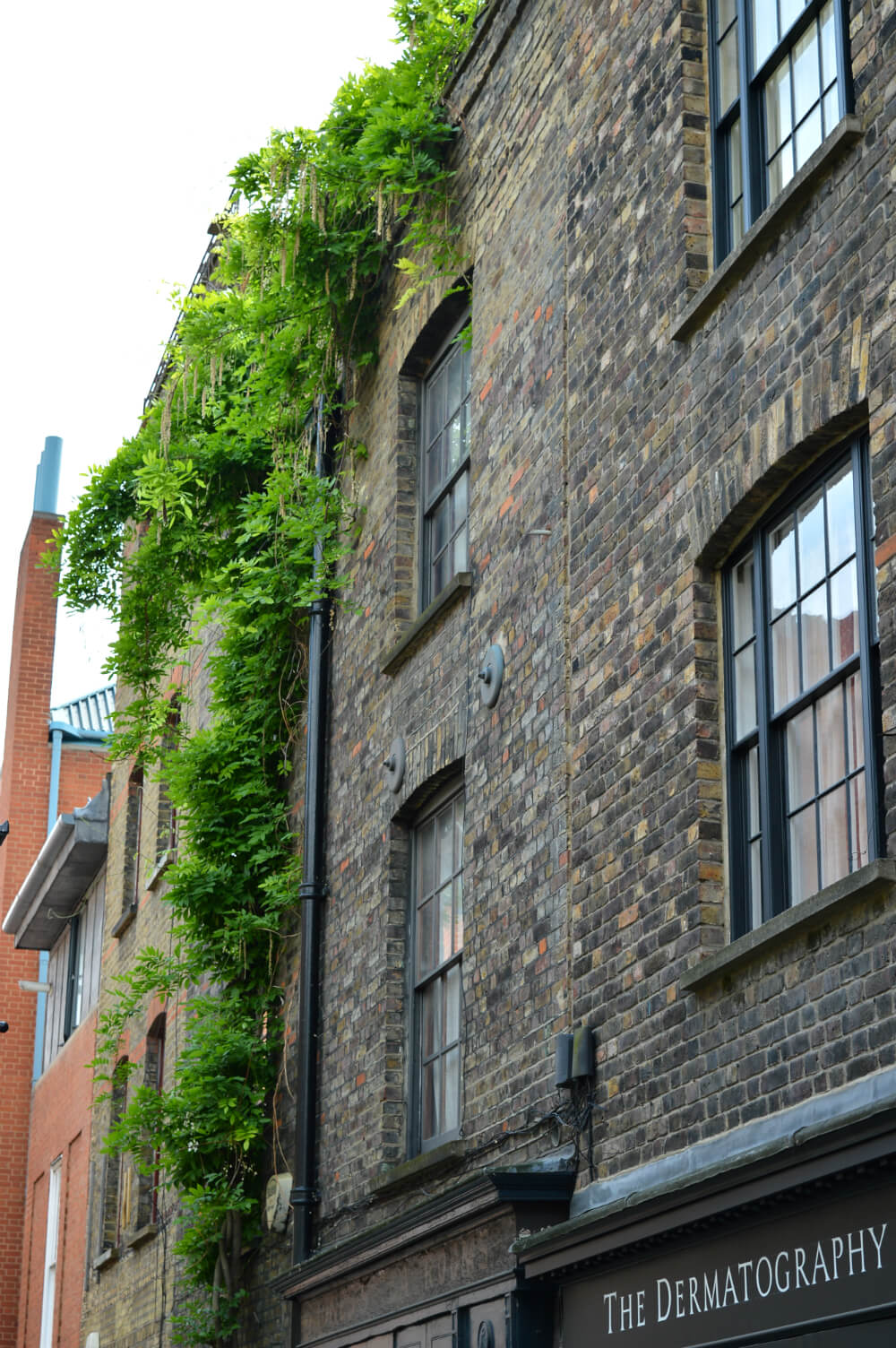 Georgian buildings in Shoreditch, London