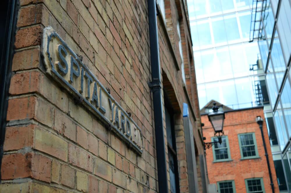Spital Yard, Shoreditch, London