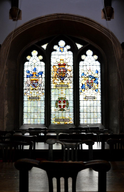 Interior of St John's Gate, Clerkenwell, London