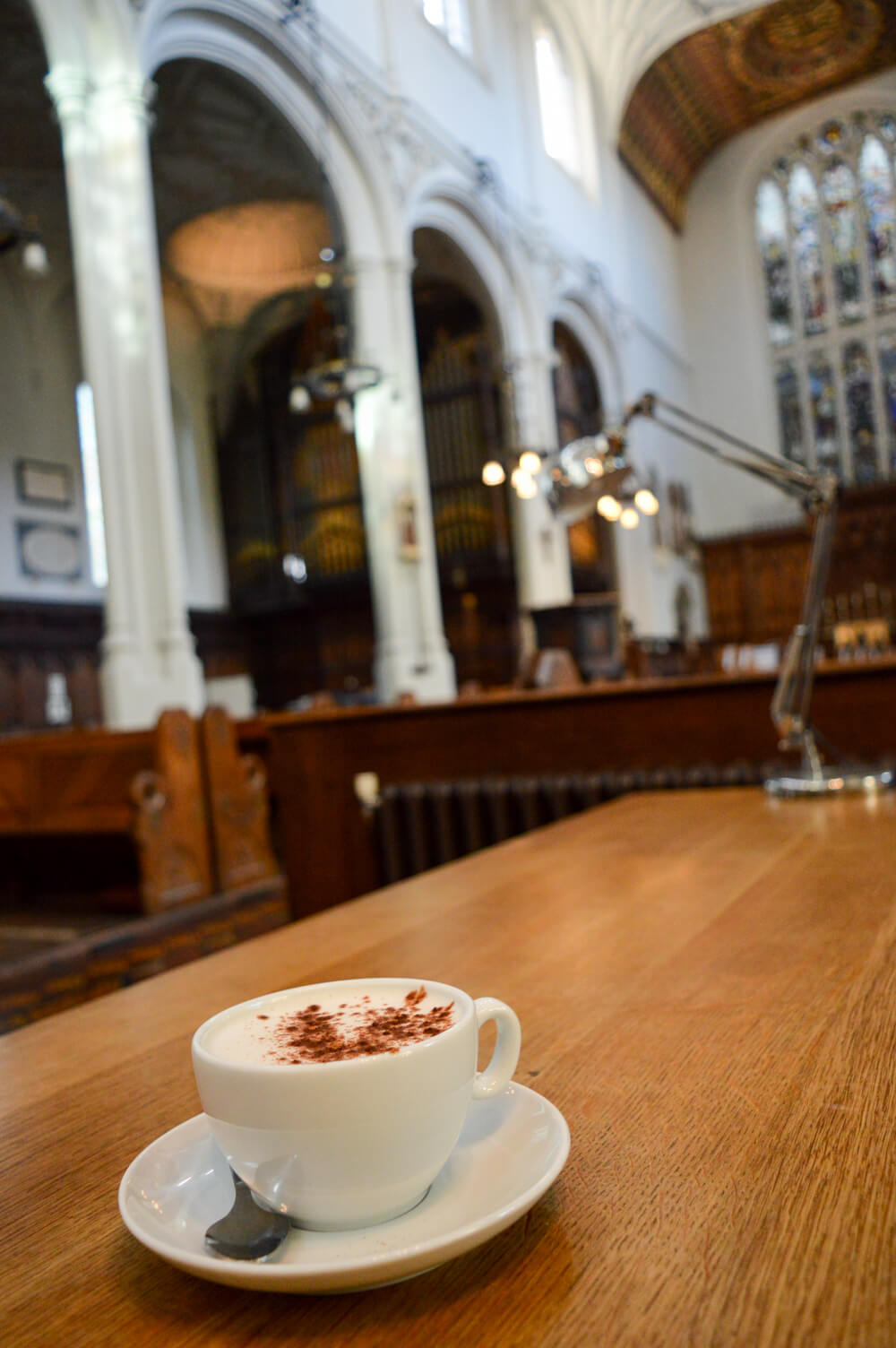 Host Cafe at St Mary Aldermary church, City of London
