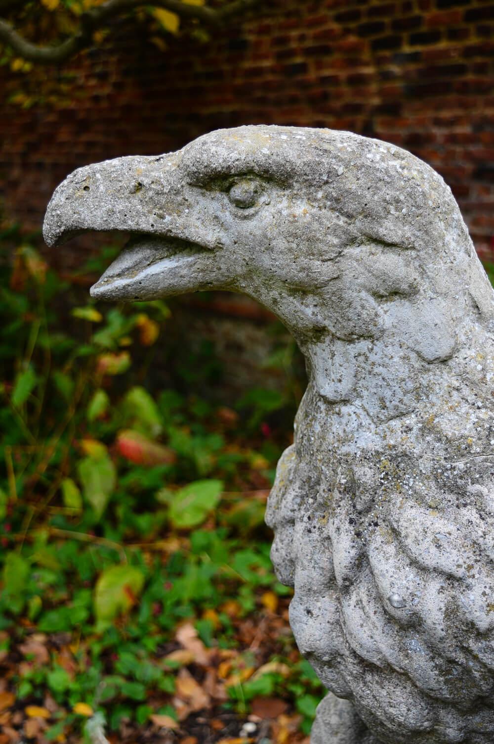Statue at Waterlow Park, Hampstead, London