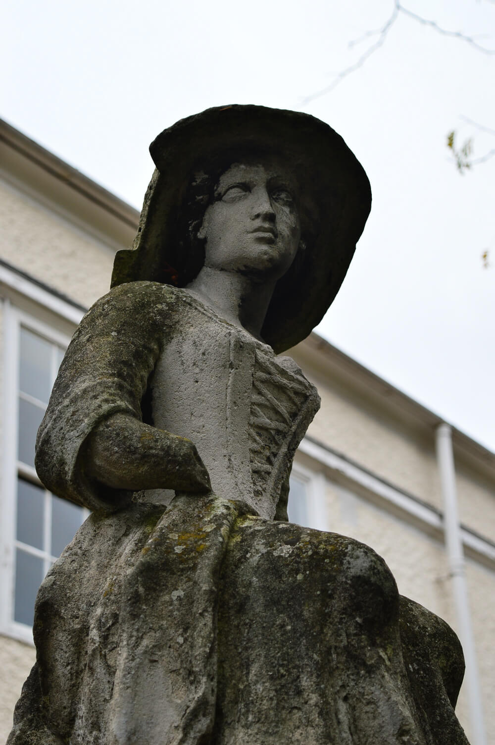 Statue at at Waterlow Park, Hampstead, London