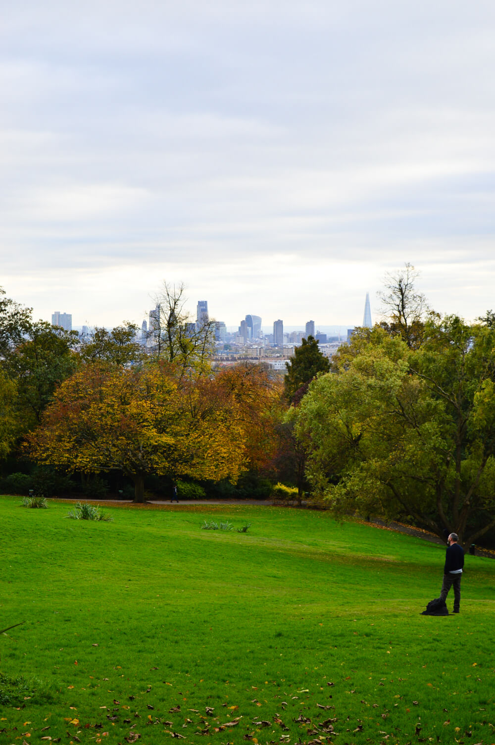 View from Waterlow Park, Hampstead, London