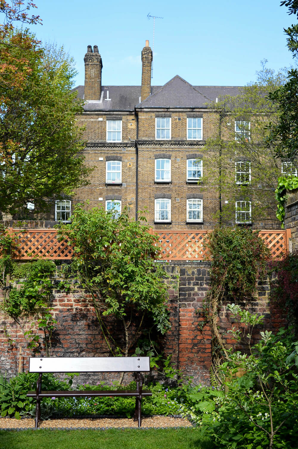 Garden of Carlyle's House, Chelsea, London