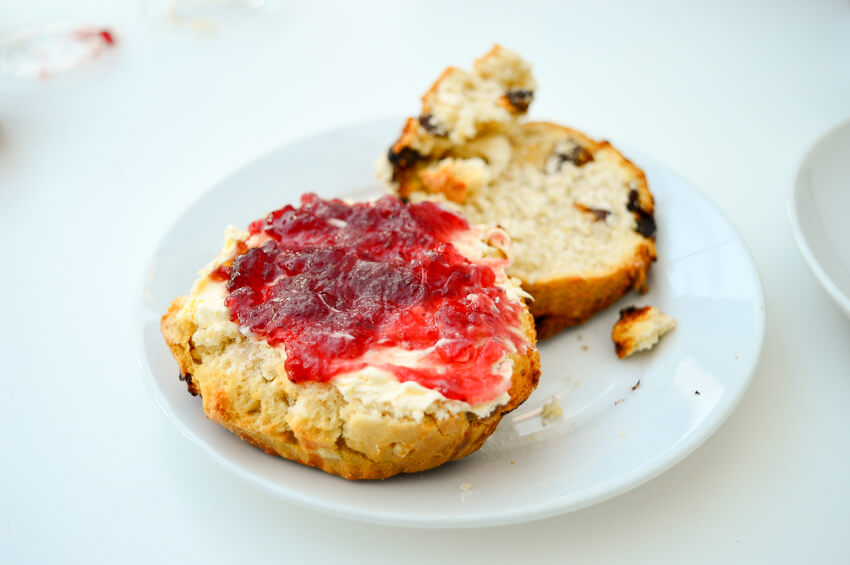 Cream tea at William Morris Gallery, London