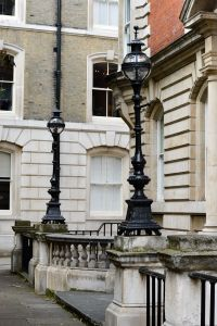 Goldsmiths Buildings by Temple Church, London